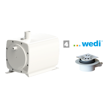 SFA sanifloor pompe de douche